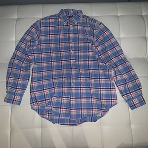 Plaid Ralph Lauren Button Mens Shirt